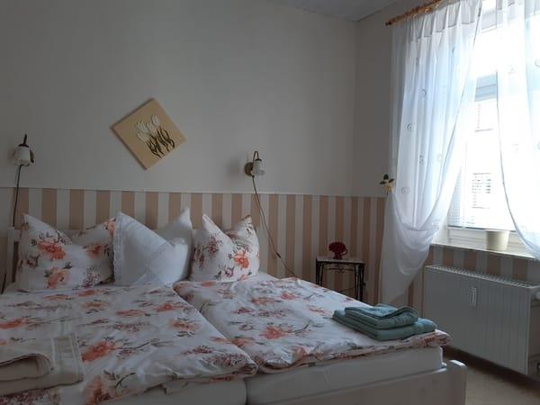 Teil des Schlafzimmers