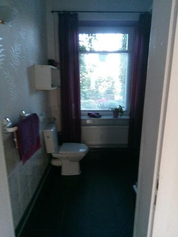 Bad / Dusche - Teilansicht WC