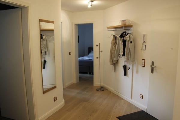 Eingangsbereich mit Garderobe