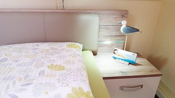 Schlafzimmer - hier lässt sich gut schlummern
