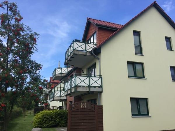 FeWo Nr. 6 in Kühlungsborn am Weststrand - Süd-Balkon - 2.OG - 200 m vom Strand