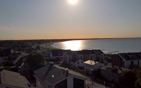 Sonnenuntergang über Glowe