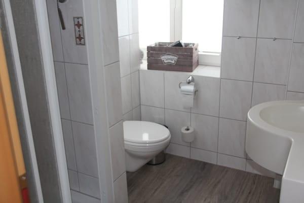 Badezimmer im 1. Stock wird gerade renoviert