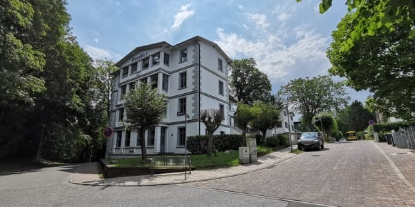 Seitenansicht Villa Seeadler