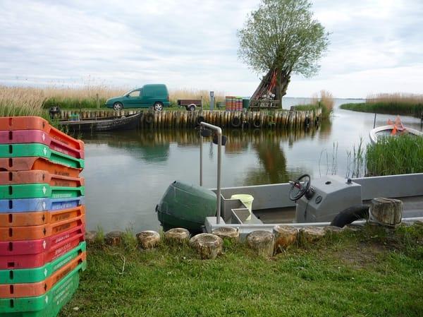 Fischerhafen Zempin am Achterwasser