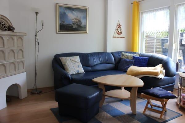 Gemütliche Sitzgruppe im Wohnbereich