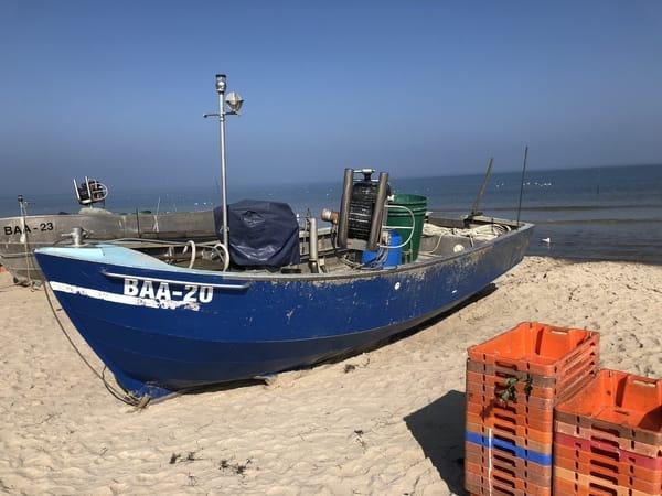 Fischerboote bei Göhren