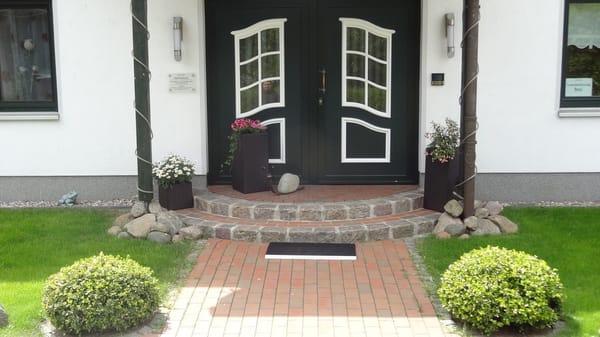 Eingangsbereich Haus OF