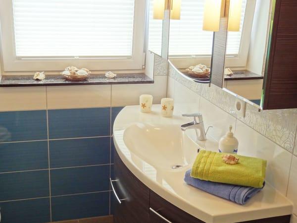 hochwertiges Bad im Haus OF