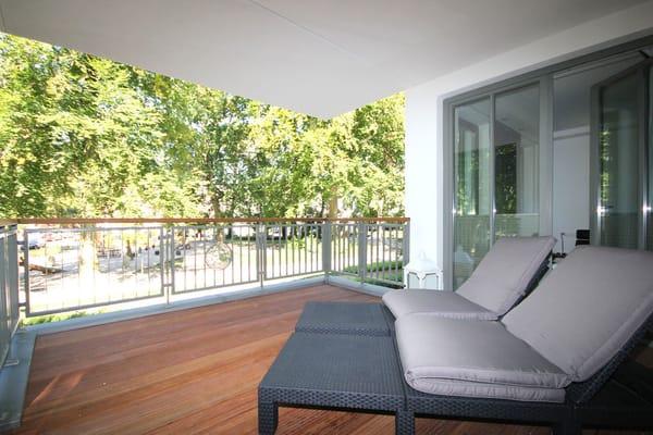 Balkon - Zugang vom Schlafzimmer