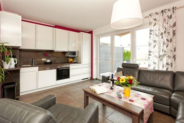 offener  Küche-Wohn-  Essbereich