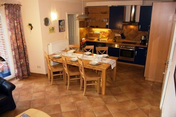 offener  Wohn- Küche- Essbereich