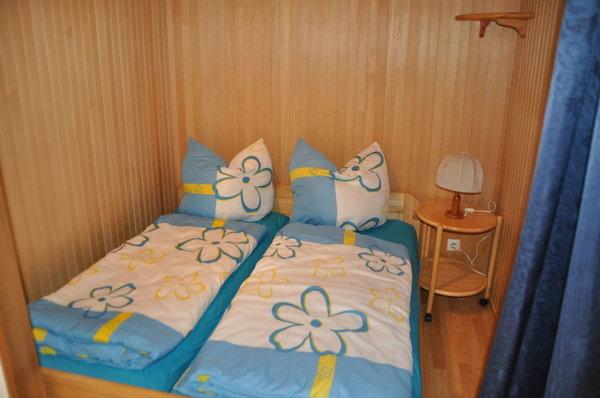 Eingebautes Doppelbett