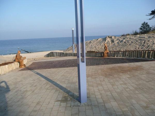 Kurplatz am Strandzugang