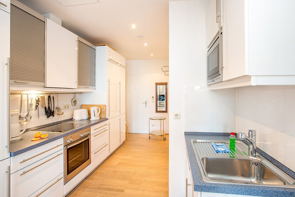 Die Küche bietet alle erdenklichen Annehmlichkeiten und ist sehr gut ausgestattet.