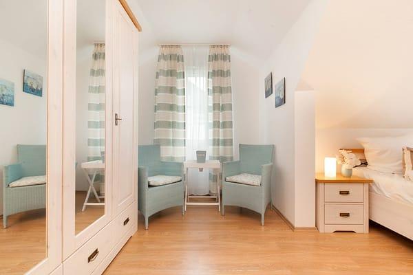 3 separate Schlafzimmer im EG und OG
