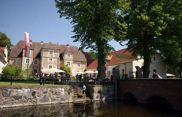 Wasserschloss in Mellenthin