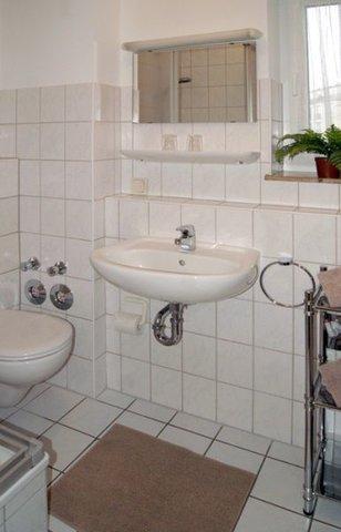 Tageslichtbad mit DU/WC und Föhn