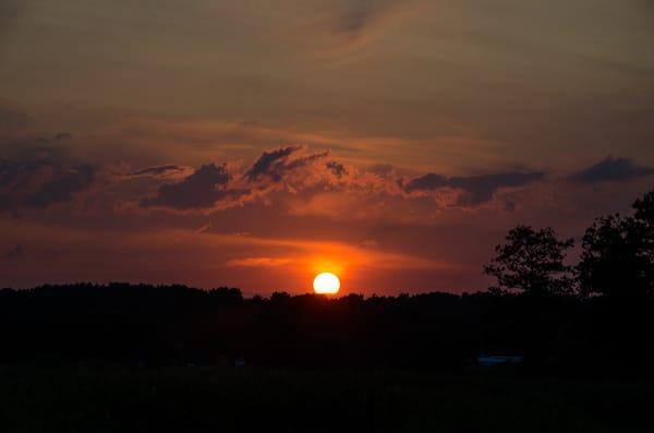 Genießen Sie den Sonnenuntergang am Achterwasser von ihrer Terrasse aus