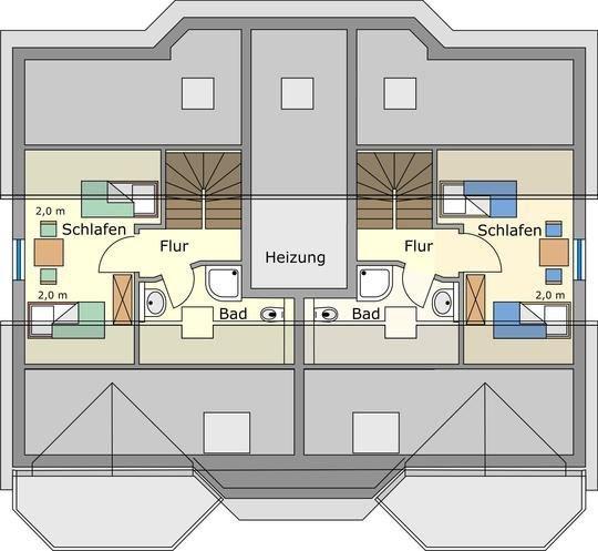 Ferienwohnung Haus Vincent Zinnowitz: Ferienwohnung 3-Zimmer Ca.83 M²