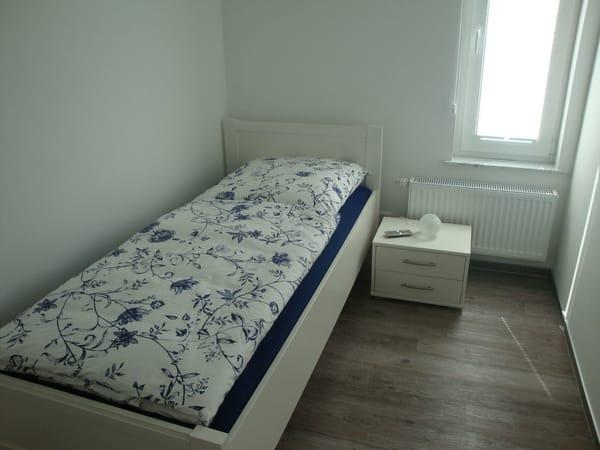 3. Schlafmöglichkeit mit Bett 90x200cm