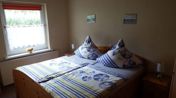 1. Schlafraum mit Doppelbett
