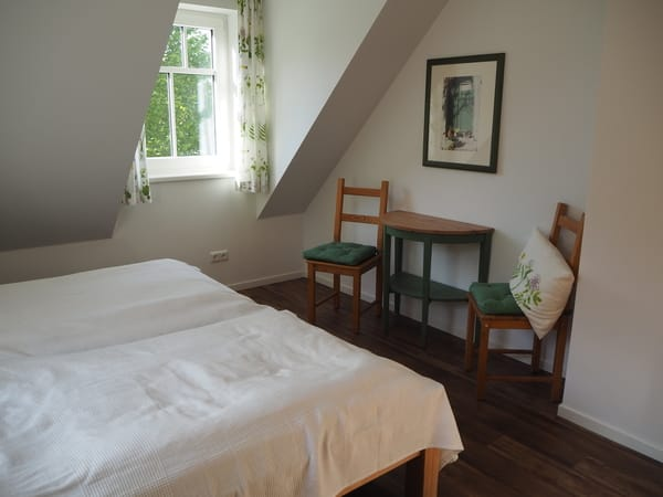 Schlafzimmer Obergeschoss (Grünes Zimmer)