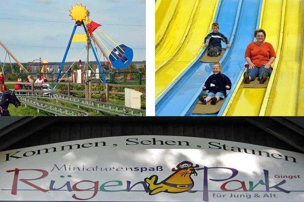 Der Rügenpark ganz in der Naähe mit vielen Attraktionen und Minaturen