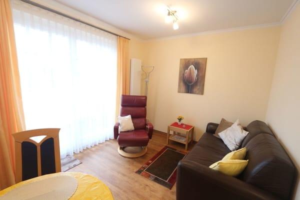 komfortables Wohnzimmer zum Entspannen