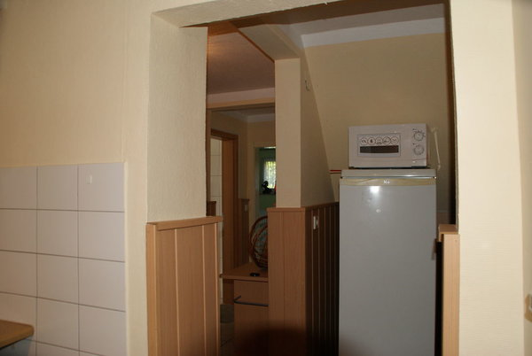 Kühlschrank mit Mirkowelle