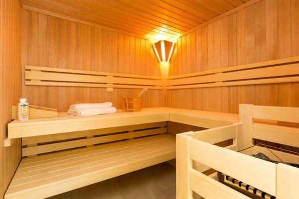 Sauna (Wohnbeispiel)
