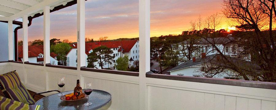 Entspannen beim abendlichenSonnenuntergang!