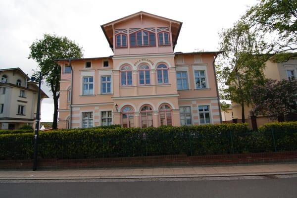 Villa Bellevue, Ansicht von der Kaiserstraße