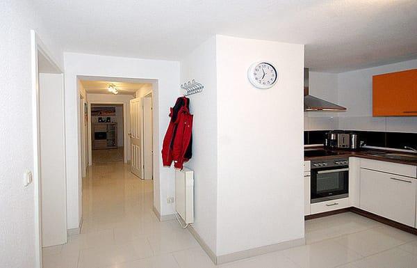 Diele und Küchenbereich