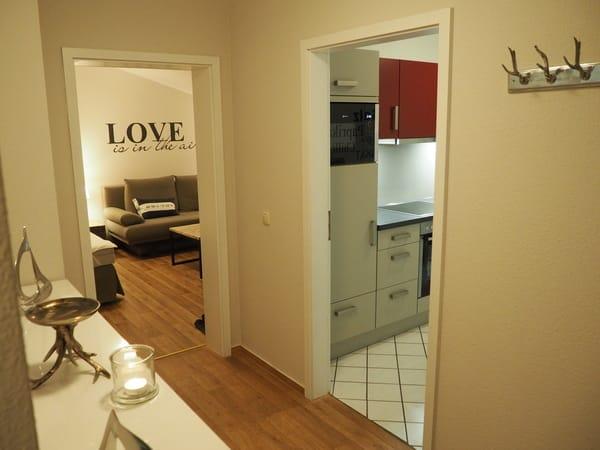 Flur Küche Schlaf-Wohnzimmer