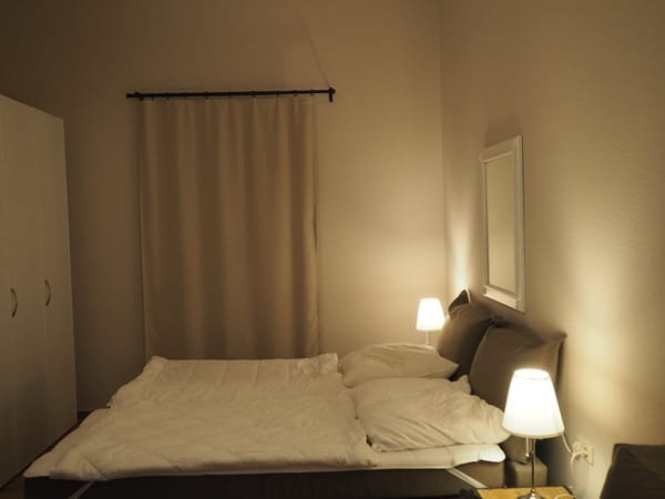 Das Schlaf-Wohnzimmer