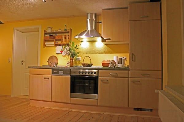 Küche mit Beleuchtung