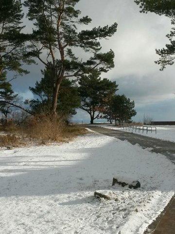 Auch im Winter schön....