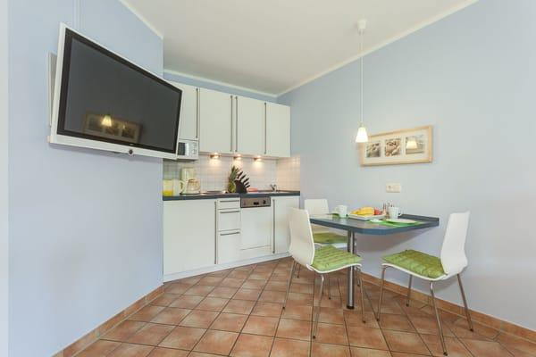 Küchenzeile 35m² Wohnung