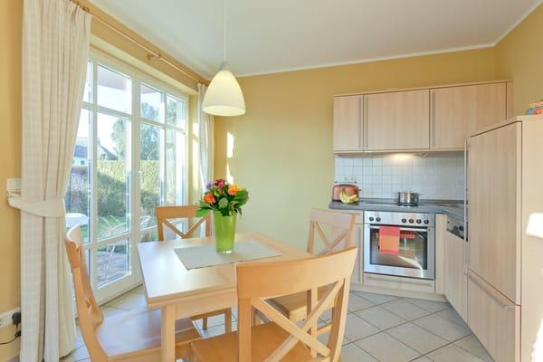 Küchenbereich 51m² Wohnungen