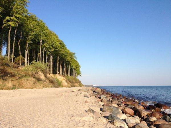 traumhafte Küste Heiligendamm