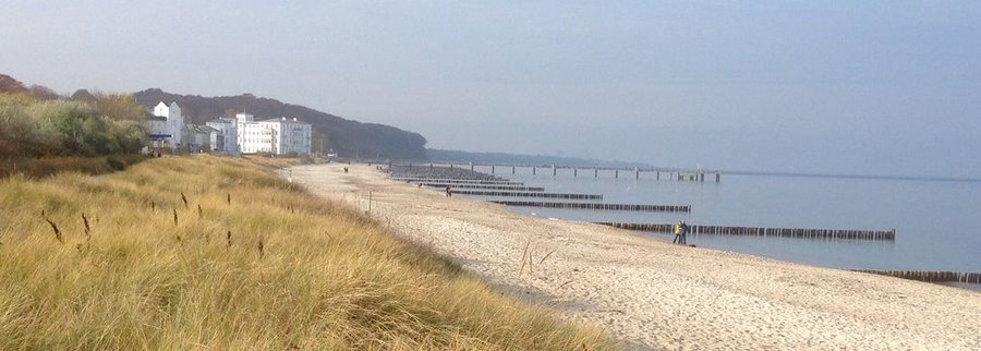 Strandresidenz Heiligendamm - Blickrichtung zum Objekt