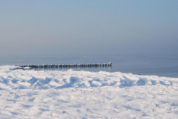 verschneiter Winter an der Ostsee...