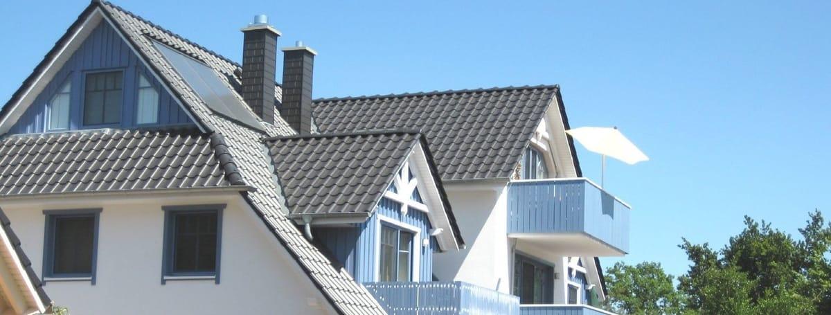 Über den Dächern von Zingst