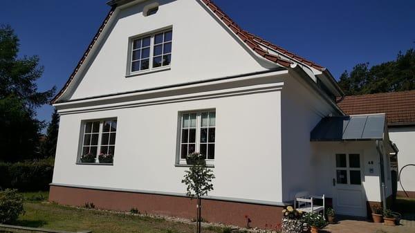 unser im Shabby Chic Stil liebevoll renoviertes Gästehaus LaVita in Seebad Bansin auf Usedom