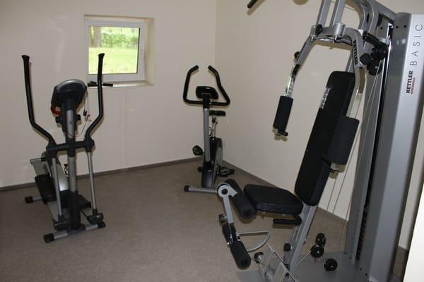 Ihr Fitnessraum - für Sie bereit.
