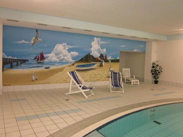 Urlaubsfeeling im hauseigenen Schwimmbad