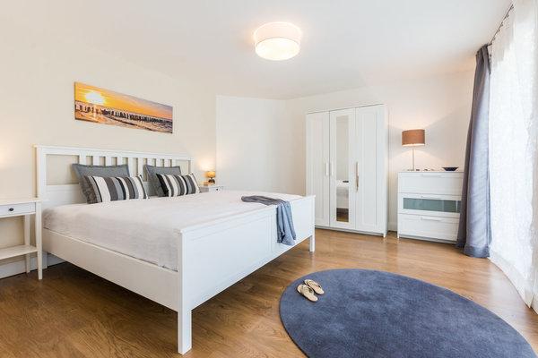 Alle Betten haben eine angenehme Einstiegshöhe.