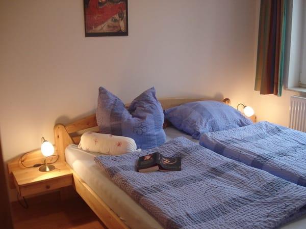 Gemütliches Schlafzimmer Wohnung Nr. 8