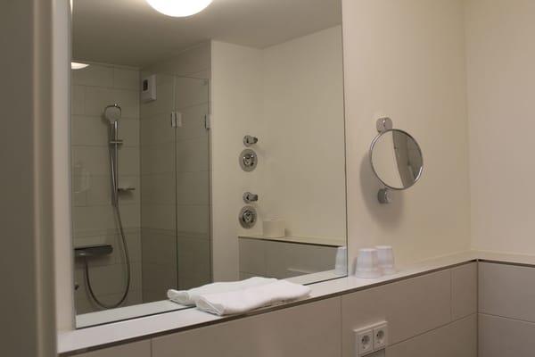 Das Duschbad zum 2. Schlafzimmer